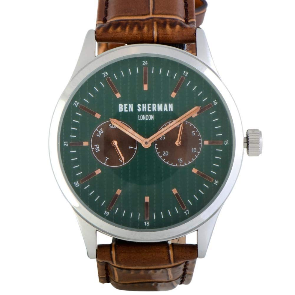 Ben Sherman Spitalfields Quartz Male Watch WB024BRA (Certified Pre-Owned) by Ben Sherman (Image #1)