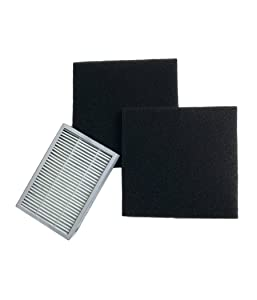 Think Crucial Replacement for Kenmore EF2 HEPA Style Filter and 2 CF1 Filters, Compatible with Part 86880, 40320, MC V194H and 86883
