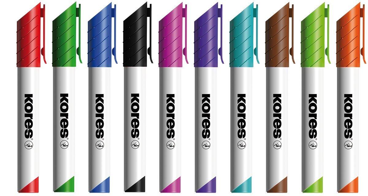 /m20801/Blanco pared Marcador en especial Colores Kores/
