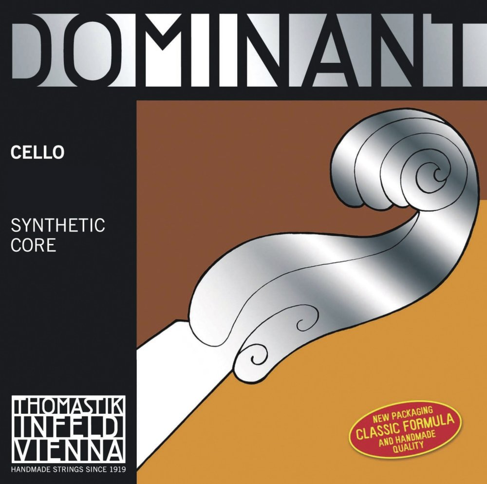 Thomastik-Infeld 144w Dominant Cello String, Single G String, Chromesteel Wound, Weich (Light), 4/4 Size G.641006
