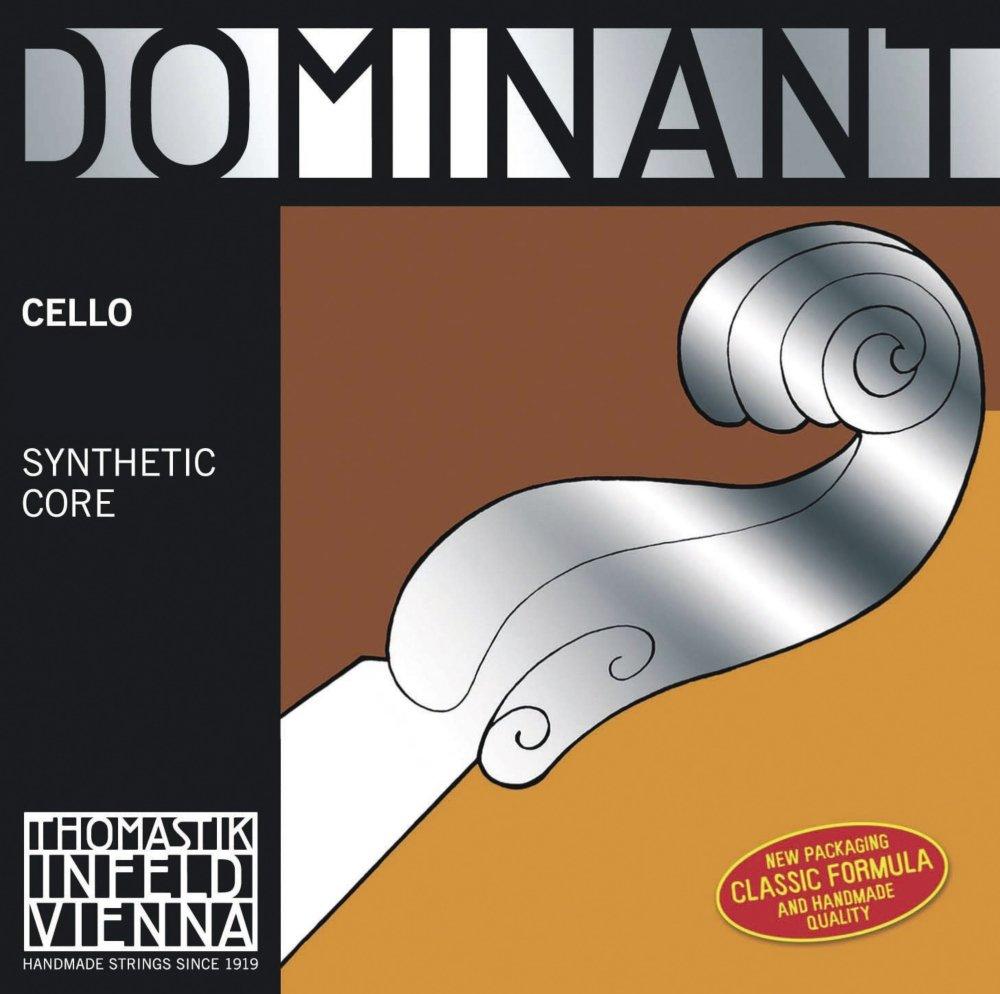 Thomastik-Infeld 144w Dominant Cello String, Single G String, Chromesteel Wound, Weich (Light), 4/4 Size G.641006