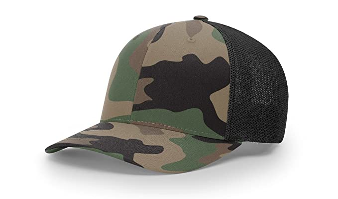 6648461f Richardson 110 Trucker R-Flex FIT Baseball HAT Ball Cap at Amazon ...