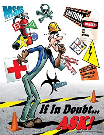 If In Doubt Ask Poster Workplace Safety Poster