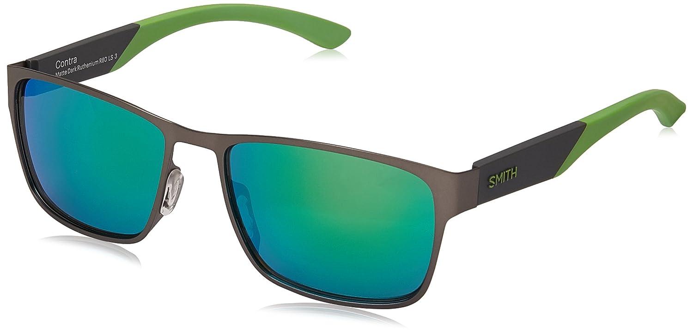 Smith Optics APPAREL メンズ One Size Dark Ruthenium/Green Mirror B071WXS57H