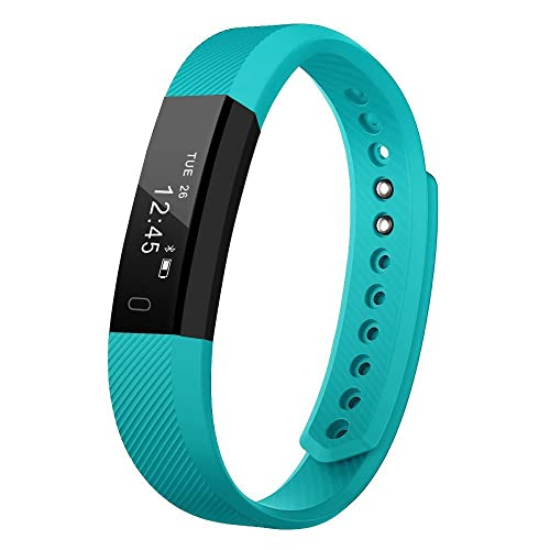 BIGFOX Fitness Tracker Smart Watch Activity Tracker Sports Bracelet With Pedometer Calorie Step Counter Sleep Monitor For Ladies Women Men Kids iPhone Android