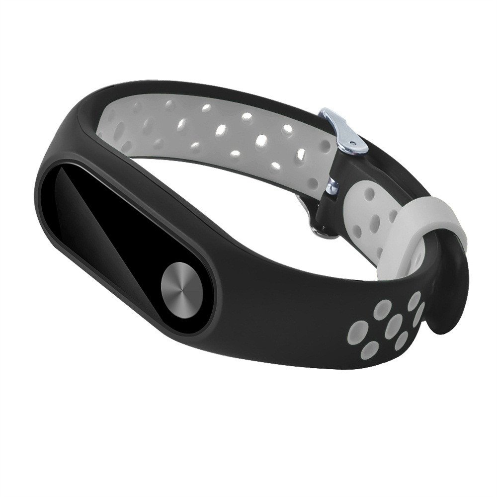 Correas xiaomi Band 2,☀️Modaworld Pulsera de reemplazo Ligero Ventilar Deporte Smartwatch Pulsera Muñequera Correa de Silicona para Xiaomi Mi Band 2 ...