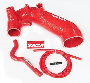 Autobahn88 Kit de manguera de silicona de admisión de aire, Modelo ASHK92-RD-