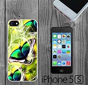 Butterfly Swirls Custom made Case/Cover/skin FOR iPhone 5/5s