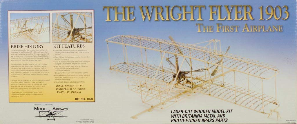 Amazon.com: Model Airways #1020 The Wright Flyer 1903 The ...