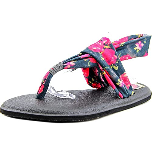 a5a62eba606a Image Unavailable. Image not available for. Color  Sanuk Yoga Sling 2 Women  US 10 Multi Color Thong Sandal ...