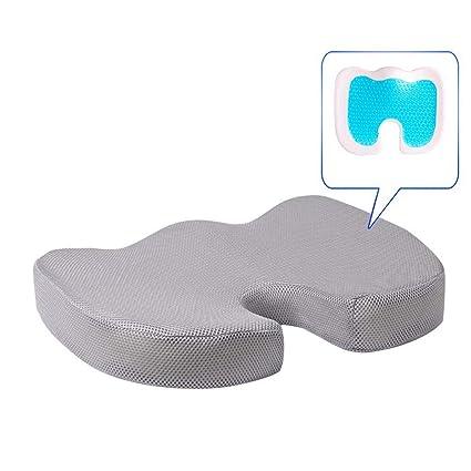 Dkings Gel Enhanced Seat Cushion - Cojín para coxis ...