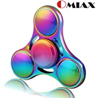 OMIAX Aluminium Alloy Metal Fidget Spinner With Steel Bearings (Stable Upto 2-5 Minutes)