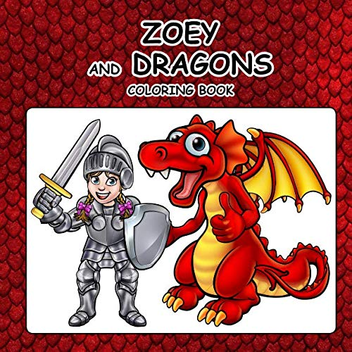 Zoey and Dragons Coloring Book
