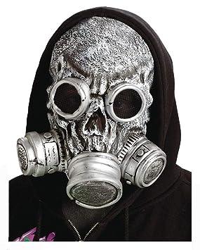 Gas Zombie Máscara de Plata