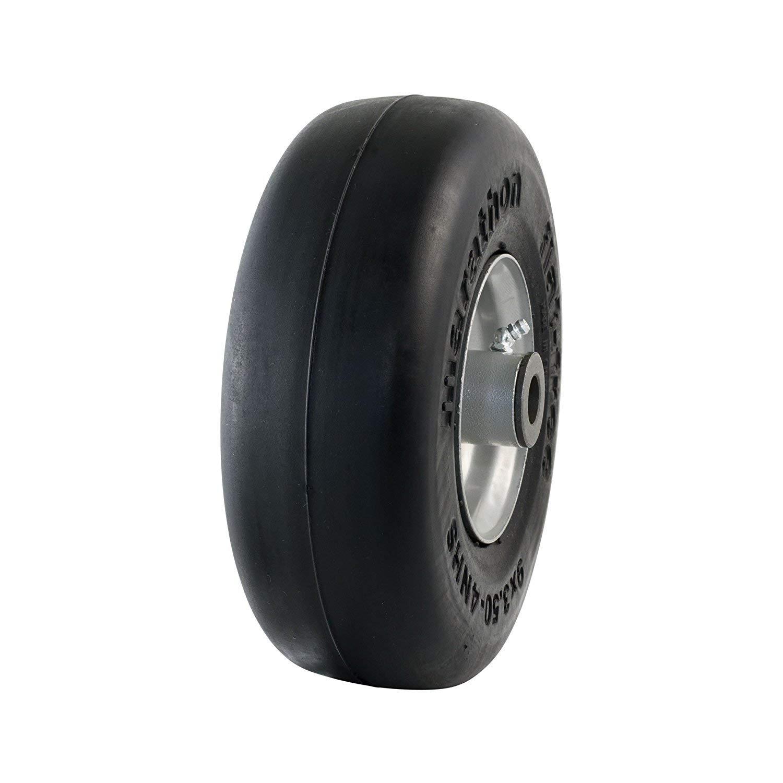 Marathon - Rueda de neumático de 9 x 3, 50 - 10, 16 cm, Tubo ...
