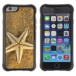 "Hypernova Defender Series TPU protection Cas Case Coque pour Apple Iphone 6 PLUS 5.5 [Playa Starfish""]"