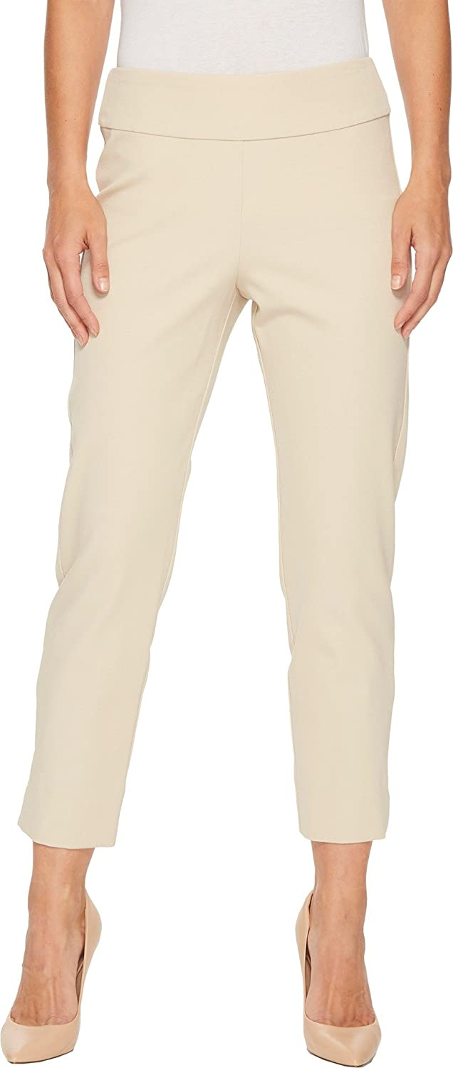 6dcbec872a Krazy Larry Women's Bi-Stretch Pull-On Ankle Pants