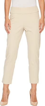 a2c1ce6d024 Krazy Larry Women s Bi-Stretch Pull-On Ankle Pants at Amazon Women s ...