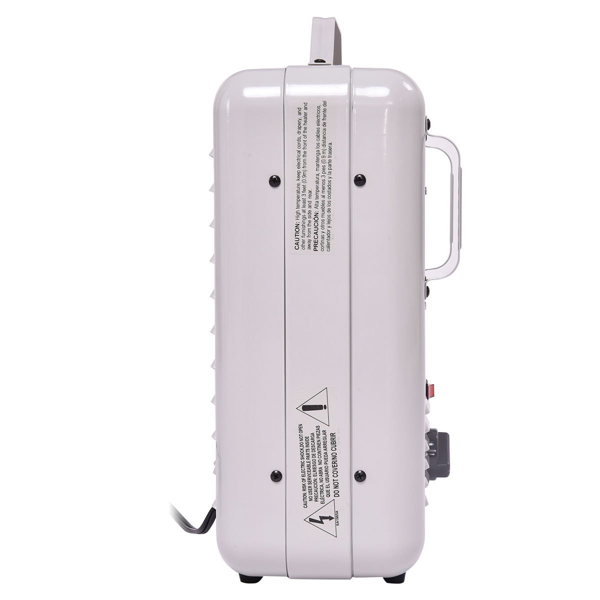LA BOVA Electric Portable Utility Space Heater Thermostat Room 1500W Air Heating Wall - - Amazon.com