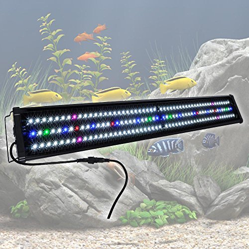 Yescom Multi Color Aquarium Freshwater 43inches