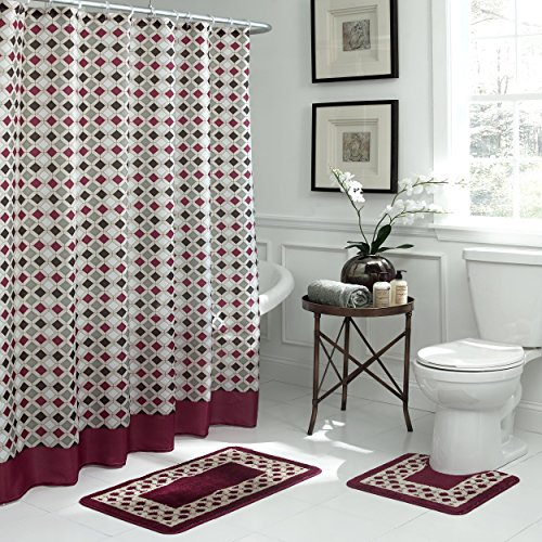 Bath Fusion Christine Geometric 15-Piece - Espresso Bath Shopping Results