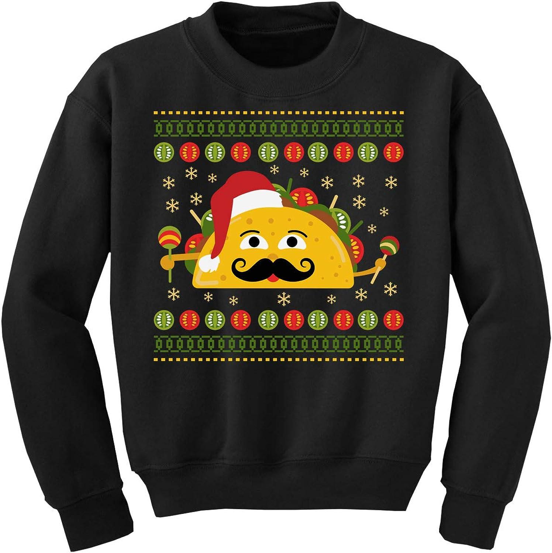 Awkward Styles Ugly Christmas Sweater for Boys Girls Kids Youth Xmas Taco Sweatshirt