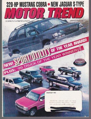Motor Trend Magazine December 1998