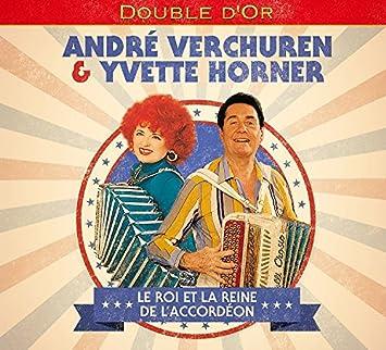 07fcad8756c563 Le Roi et la Reine de l'Accordéon: Yvette Horner, Andre Verchuren ...