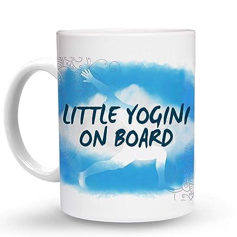 Amazon.com: Makoroni - LITTLE YOGINI ON BOARD Yoga ...