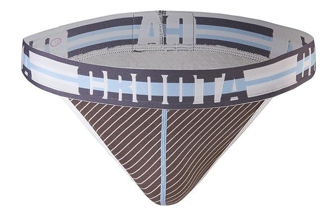 fa605f5b339 Croota Mens Underwear, Bikini Thong, Low Rise T-Back, Stylish Waistband,