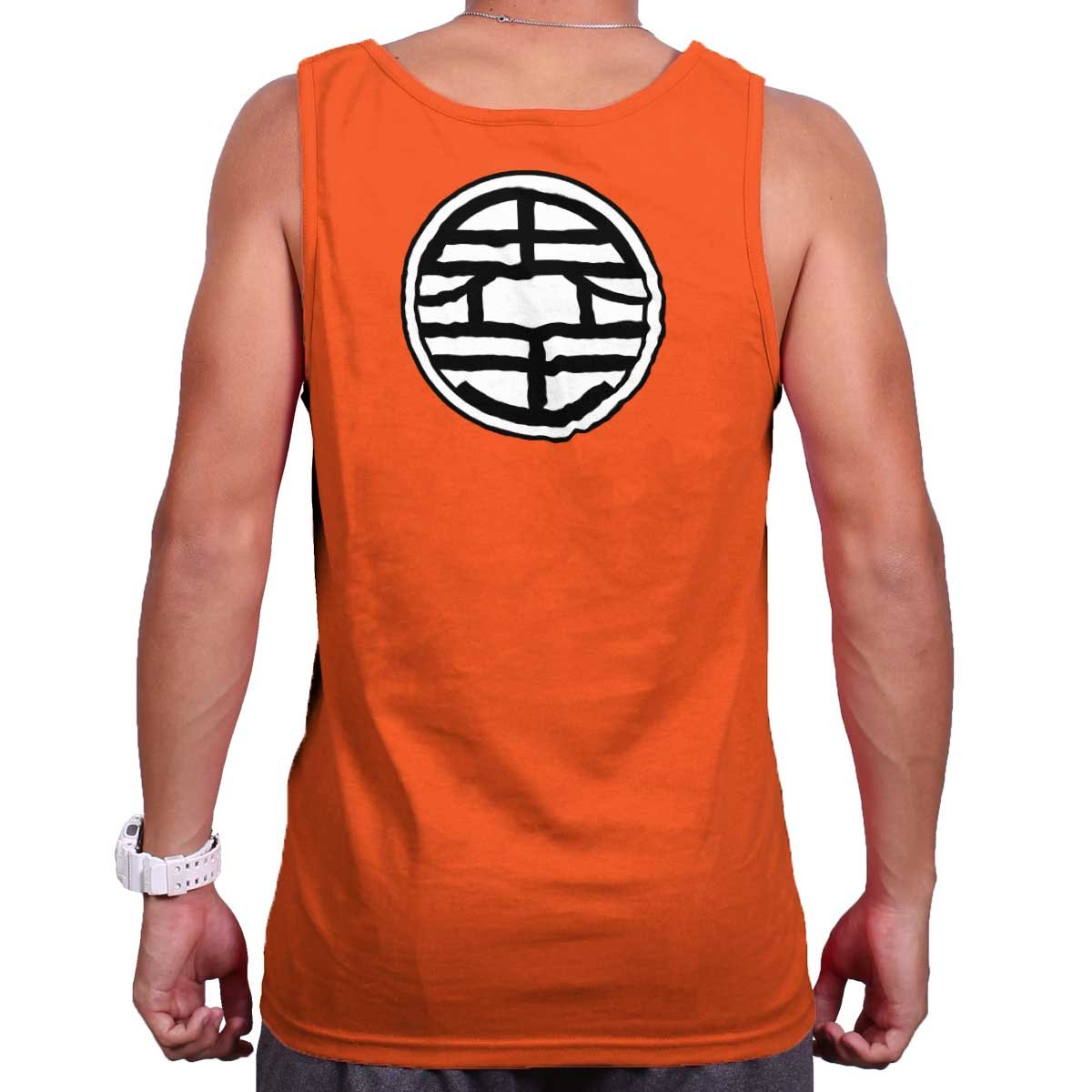 3fcf95974 Top3: Master Roshi Turtle School Kanji King Kai Dragon Ball Z Tank Top Shirt