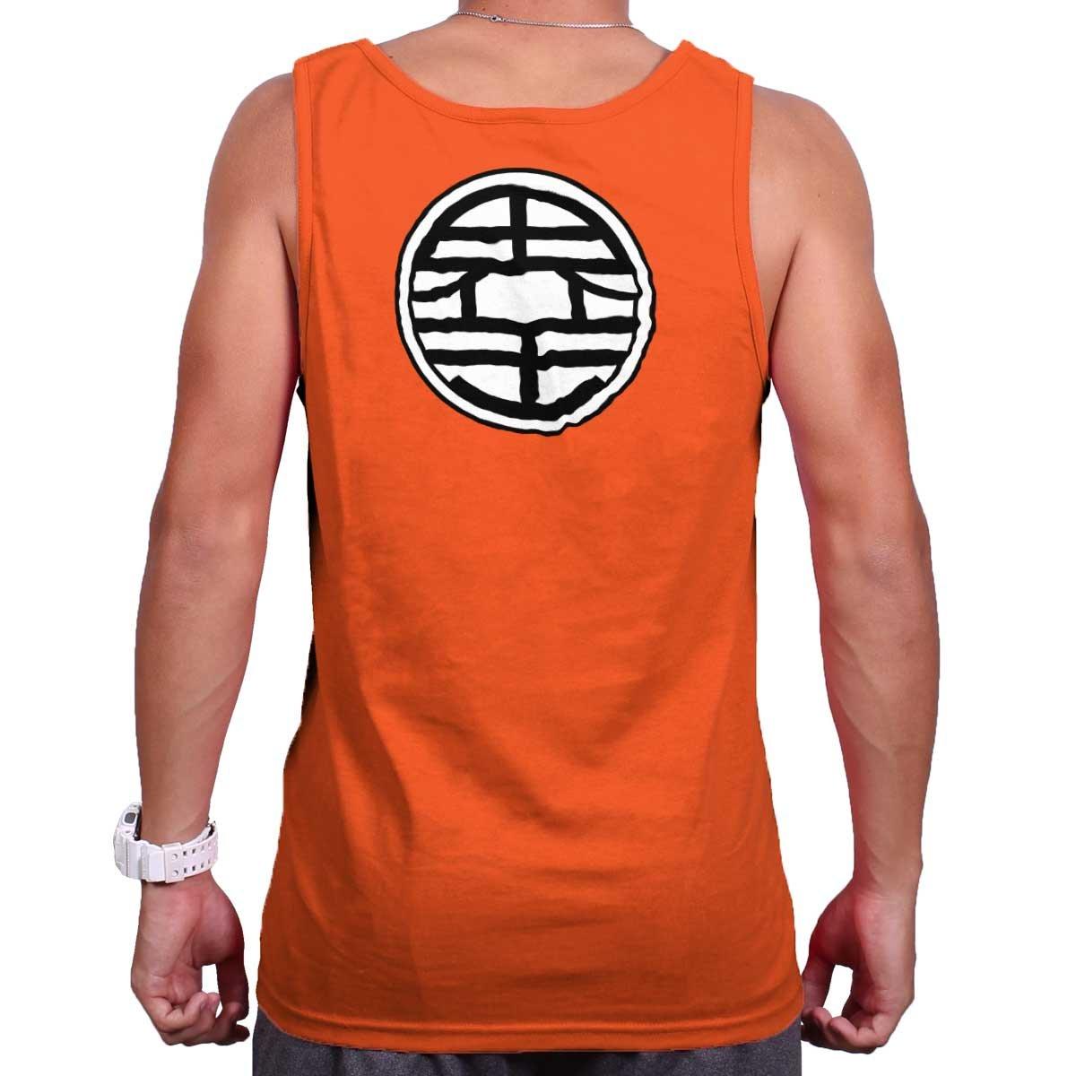 Master Roshi Turtle School Kanji King Kai Dragon Ball Z Tank Top Shirt