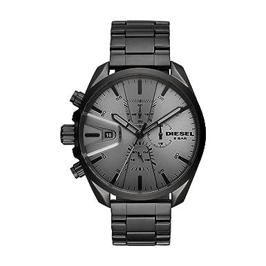 270b7d8060c7 Diesel Reloj Cronógrafo para Hombre de Cuarzo con Correa en Acero  Inoxidable DZ4484  Amazon.es  Relojes