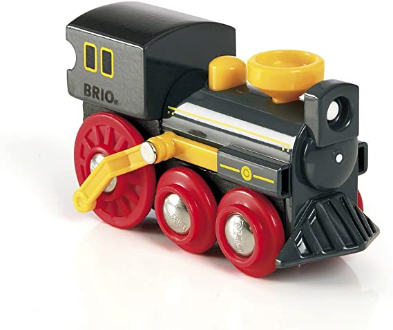 Brio 33617 Old Steam Engine | Train Toy for Kids Ages 3 and Up
