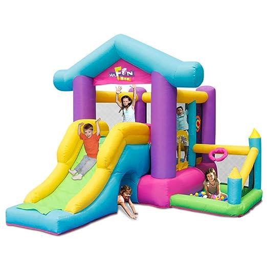 Castillo De Interior para Niños Parque Infantil Inflable Zona De ...