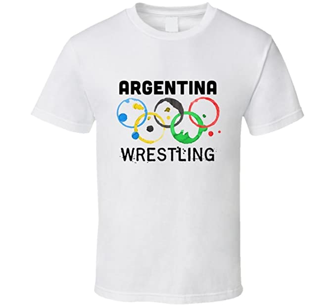 502cbf35bc2f33 GSWCB Argentina Wrestling Rio 2016 Summer Olympics T Shirt X-Large ...