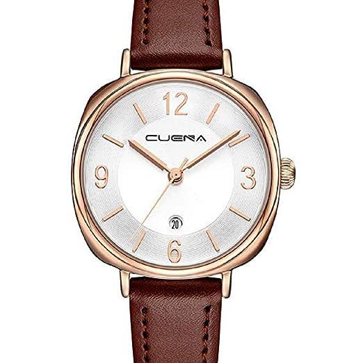 Scpink Relojes de Cuero para Mujeres f2c4944dd30a