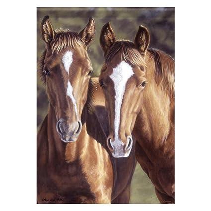 Beau Carson Horses Garden Flag 45006