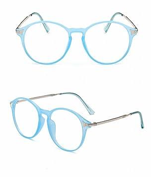 Retro Brille Rahmen Mode Ultra - Licht Spektakel Rahmen Mit Nahsichtglas Blauer Rahmen 69ZgI