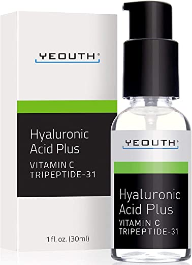 YEOUTH Best Anti Aging Vitamin C Serum with Hyaluronic Acid & Tripeptide 31 Trumps ALL Others