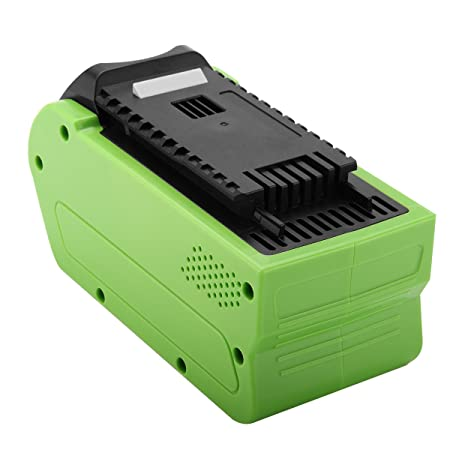 Creabest 5000mAh GreenWorks 29462 29472 G-MAX 40V Replacement Battery,  G-MAX 40V