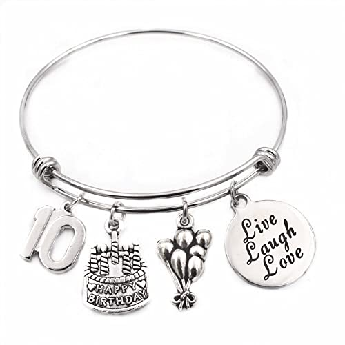 13th Birthday Gifts For Girls Gifts for Her Stainless Steel Expandable Bangle ibRyC8ZYtv