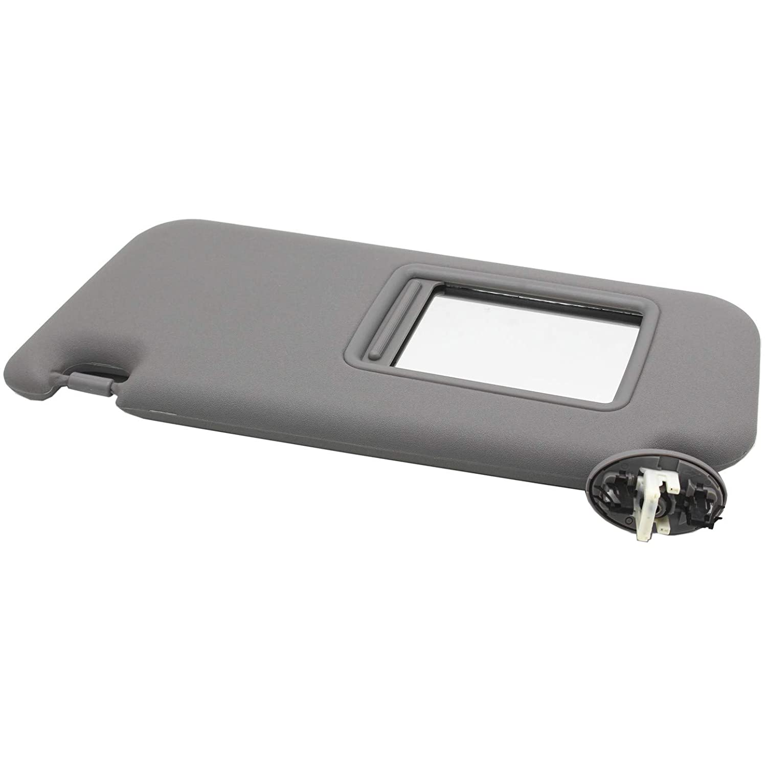 Ezzy Auto Gray Left Driver Side Sun Visor fit for Toyota RAV4 with Sunroof 2006 2007 2008 2009 2010 2011 2012 2013