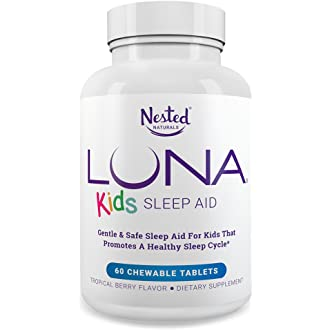 #18 LUNA Kids | #1 Sleep Aid Tablets for Children 4+ and Sensitive Adults |