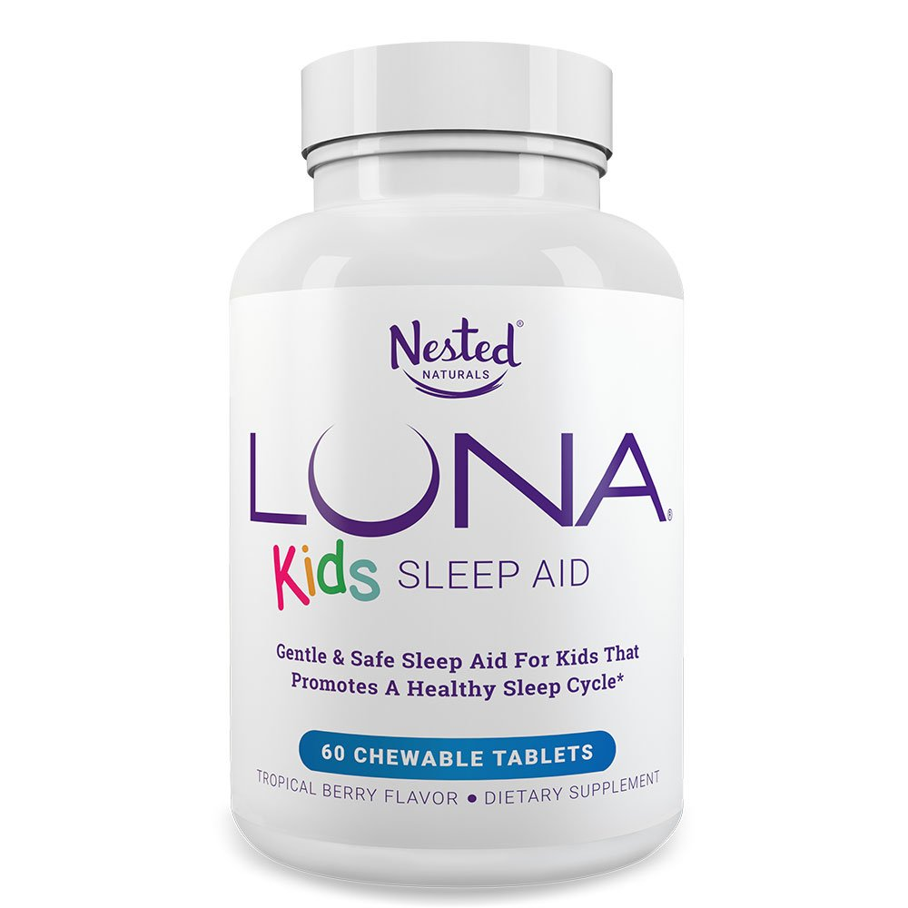 LUNA Kids | #1 Sleep Aid Tablets for Children 4+ and Sensitive Adults |