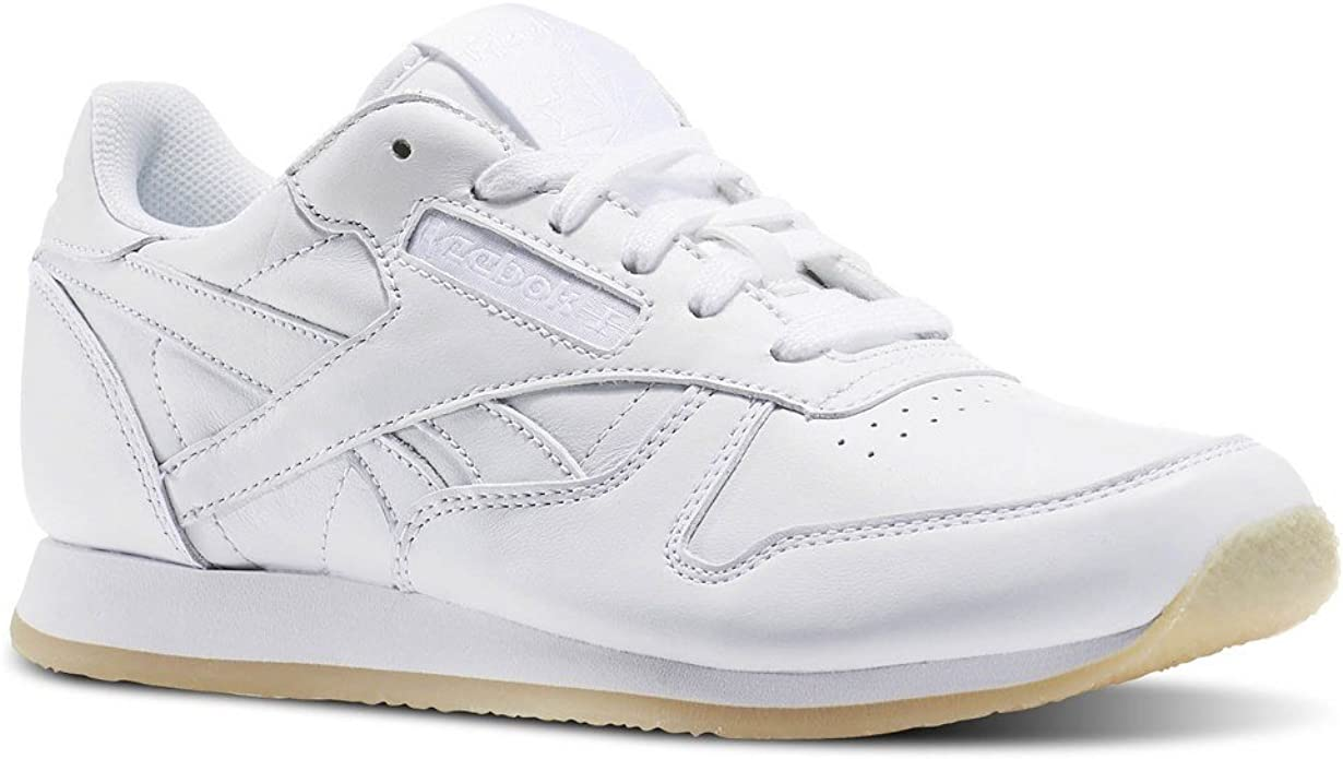 Expresamente Indirecto misil  Reebok Classic Leather Crepe Trainers White 5 UK: Amazon.co.uk: Shoes & Bags