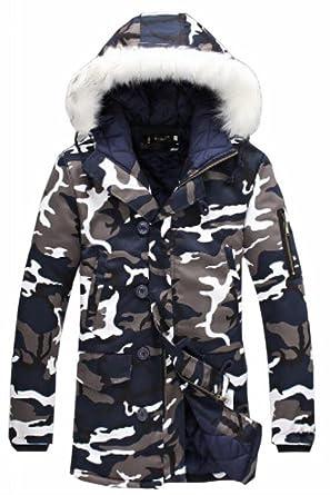 Xswsy XG Men Big And Tall Fleece Hooded Padded Coat Winter Parka Outwear