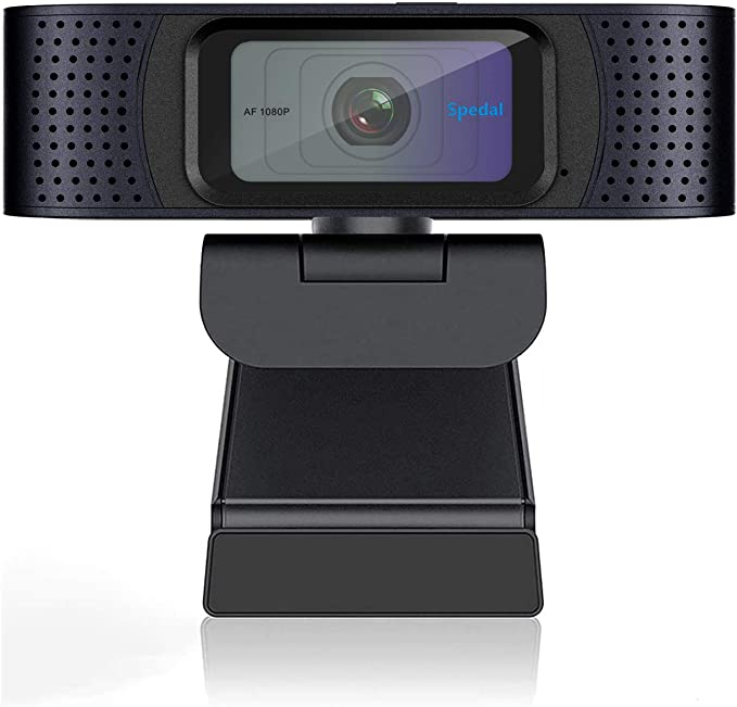 Webcam for Gaming Conferencing Laptop or Desktop Webcam 1080P HD Webcam with Microphone USB Computer Camera for Mac Xbox YouTube Skype OBS Fast Autofocus