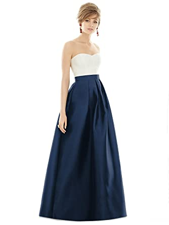 3fdb9e9b48 Alfred Sung After Six Bridesmaids Style D755 at Amazon Women s Clothing  store