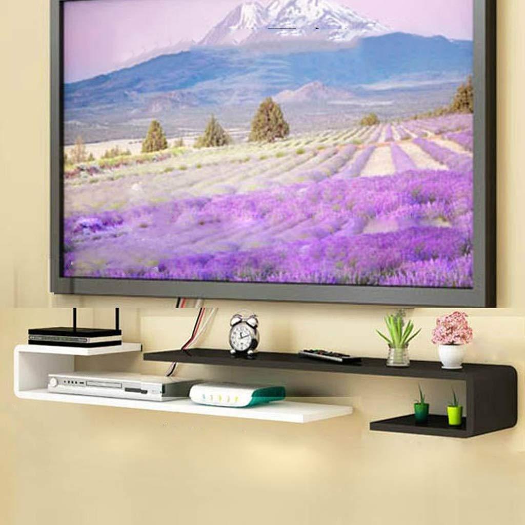 壁のテレビフレーム寝室のリビングルームの壁の棚マルチメディア収納ラックテレビの背景壁の装飾フレーム B07RNBJ638